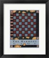 Framed Harmony Game