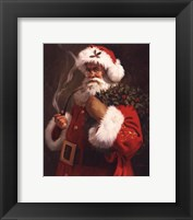 Framed Spirit of Santa