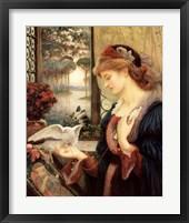 Framed Love's Messenger