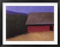 Framed LaCross Barn