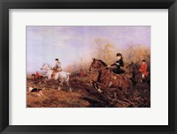Framed Out For A Scamper (Women On Horses)