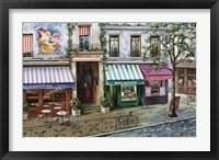 Framed Rue Des Maisons