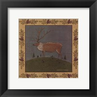 Framed Folk Elk