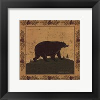 Framed Folk Bear