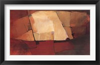 Daily Abstract Framed Print