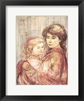 Cora and Linda Framed Print