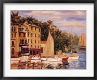 Framed San Miguel Harbor
