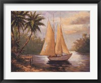 Setting Sail II Framed Print