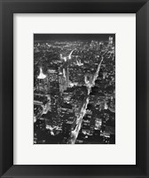 Manhattan (full bleed) Framed Print