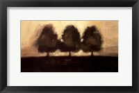 Framed Row of Trees I
