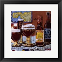 Beer and Ale IV Framed Print