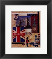 Framed London Collage