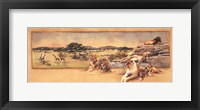 Out of Africa I Framed Print