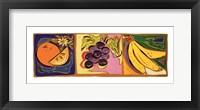 Framed Still Life with Fruit I