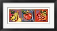 Framed Still Life with Fruit II