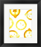 Framed Lemon Yellow