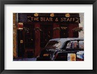 Framed Bear Staff