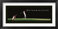 Framed Determination-Golfer