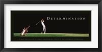 Framed Determination-Golfer