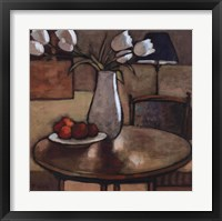 Framed Still Life with Tulips