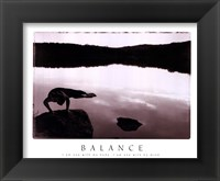 Framed Balance-Yoga