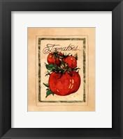 Framed Vintage Tomatoes