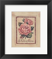 Framed Vintage Felicia Rose