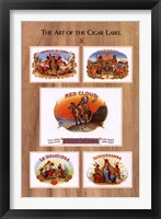 Framed Art of the Cigar Label