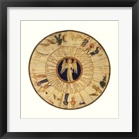 Framed Astrological Chart I