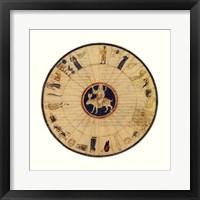 Astrological Chart II Framed Print