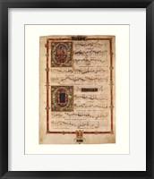 Polyphonic Hymns Magnificats (Bass) Framed Print