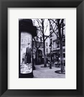 Framed Paris Scene I