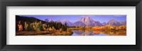 Framed Nature's Colors - Grand Teton Range