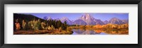 Framed Nature's Colors - Grand Teton Range