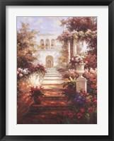 Framed Le Jardin De Printemps I