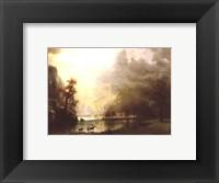 Framed Sierra Nevada Morning
