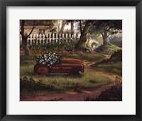Framed Hero's Garden