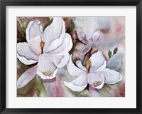 Framed Magnolia Blooms