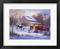 Framed Winter Chores