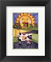 Framed Daisy, Daisy Cow
