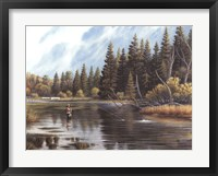 Framed Fly Fishing
