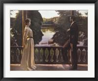 Framed Nordic Summer Evening, 1899-1900