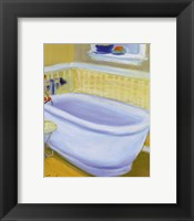 Framed Porcelain Bath l
