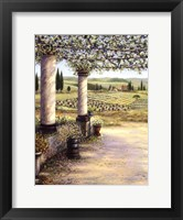 II Trebbio West Framed Print