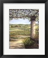 II Trebbio East Framed Print