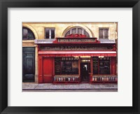 Framed Epicerie P. Legrand Confiserie