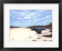 Framed West Wind Beach