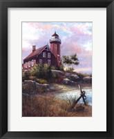 Framed Eagle Harbor Light