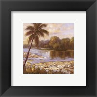 Island Tropics l Framed Print