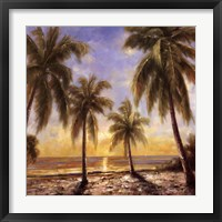 Caribbean Waters Framed Print
